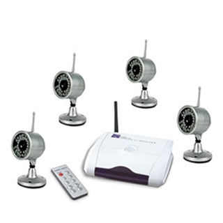 Wireless Outdoor  Camera Receiver Kit
