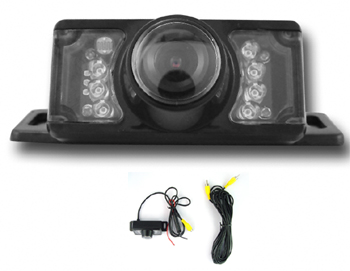 Car Rear View Infrared Night Vision Camera  Under Carriage Mount