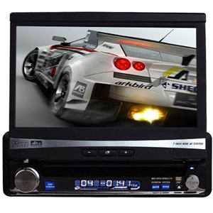 7-inch Motorized Touchscreen Car DVD Player with Bluetooth