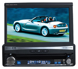 7-inch TFT Touch Screen LCD DVD Player FM / AM / TV Receiver