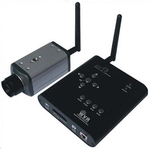 Wireless CMOS Camera with Wireless Motion Detection DVR