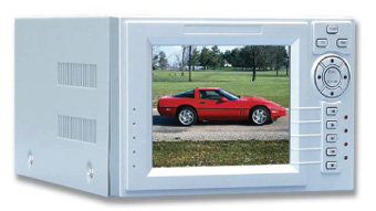 Compact Triplex DVR with built in LCD Screen