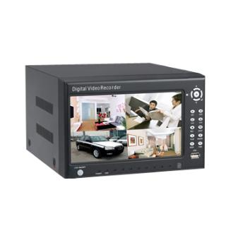 H.264 4 Channel 7 Inch LCD Screen DVR