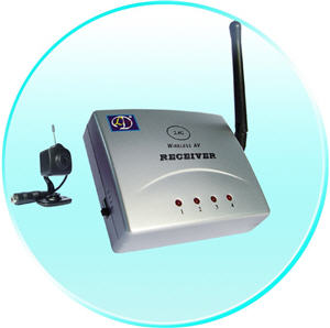 Low Cost 2.4GHz Wireless Camera / Receiver kit