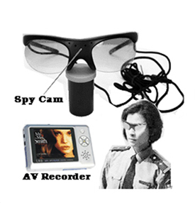 Sunglasses Spy Camera with MP4 Player / Recorder