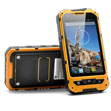 WaterProof  (IP67) Touchscreen Mobile Phone Quad Band Dual SIM