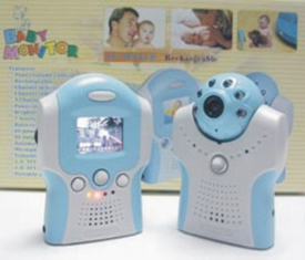 Wireless Baby Monitor Kit with Audio and Night Vision - 1