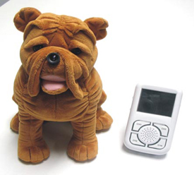 Dog Design Wireless Baby Monitor Kit with Audio - 5
