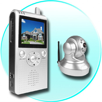 Wireless LCD Receiver Camera Kit