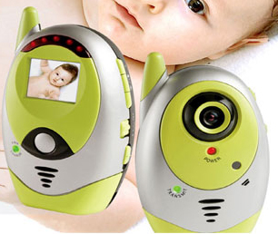 Wireless Baby Monitor Audio Night Vision Voice Activated Camera