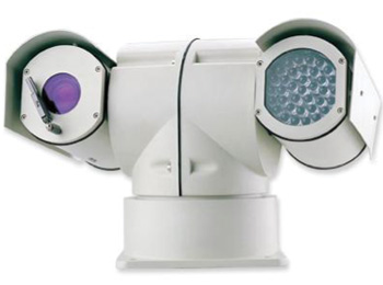 Armoured PTZ RoboCam with Night Vision Beam and Optical Zoom