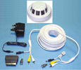 Single Hidden Smoke Detector Camera System