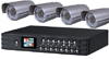 160GB DVR with 4 Outdoor CCD Night Vision Cameras