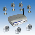 7 Camera kit with IP Camera Server CCTV System