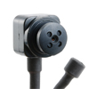 Wired Button CCD Camera with Audio