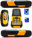 Rugged Tough Waterproof Dual Band Mobile Phone