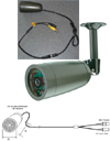 Waterproof IP68 CCD Camera Infrared LED