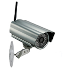 100 fps Outdoor Wireless IP Camera with Night Vision