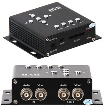 MPEG-4 Mobile SD Card DVR with Audio