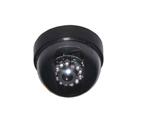 Wired CCD Dome Camera with Night Vision