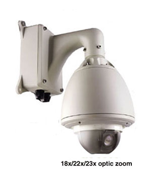 Wired 5 inch Outdoor Speed Dome Camera