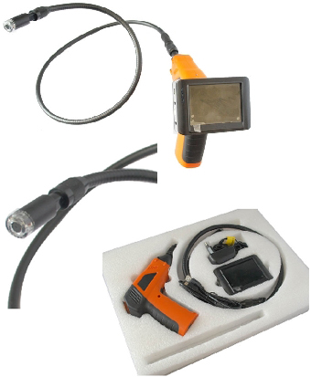 Wireless Pipe Inspection Camera with Recording LCD Display