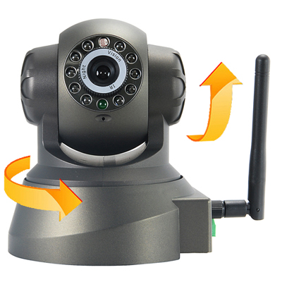 Wireless IP Camera Infrared Night Vision Audio
