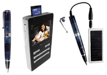 Wireless Spy Pen Camera with Wireless Reciever / Recorder Kit