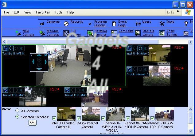 DVR Surveillance Software with Face Detection and Recognition - Click Image to Close